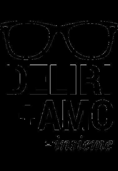 maglietta DELIRI+AMO=INSIEME