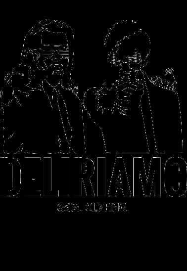 maglietta Pulp Fiction loves Deliriamo