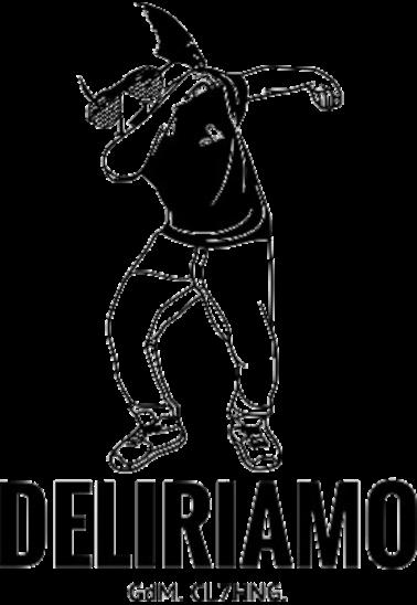 maglietta Magalli che Dabba loves Deliriamo