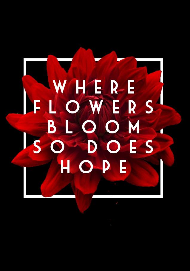 maglietta FLOWERHOPE