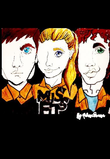 maglietta Misfits Series