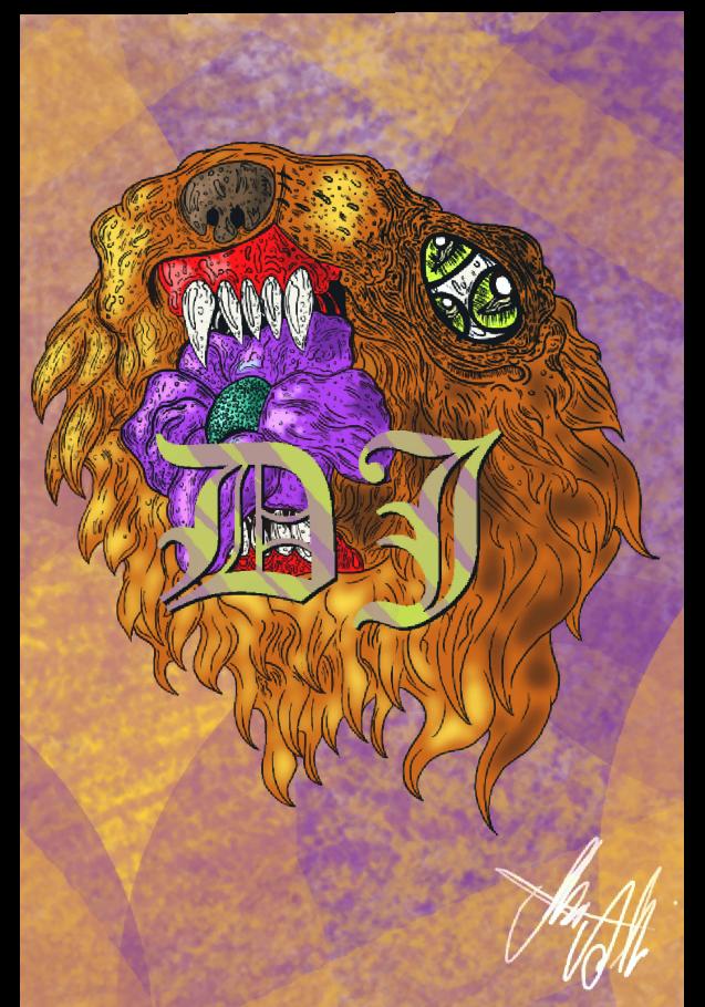 maglietta DJ-illusion tiger cover