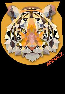 maglietta #Animalz #Tigre