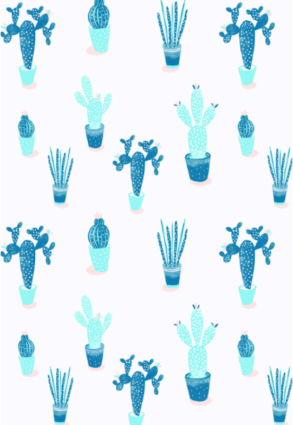 maglietta Esotic cactus
