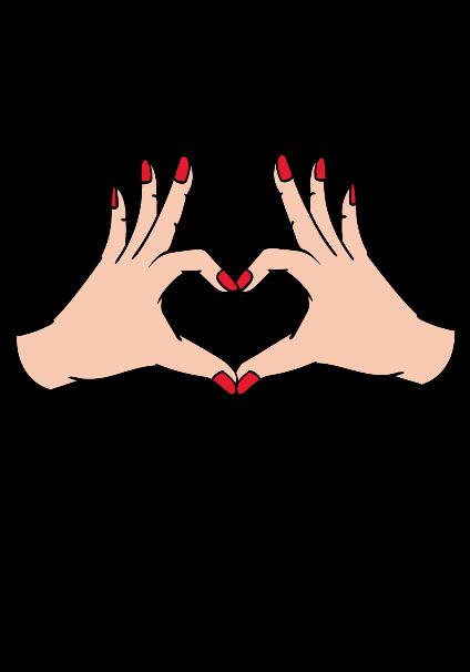 maglietta handheart