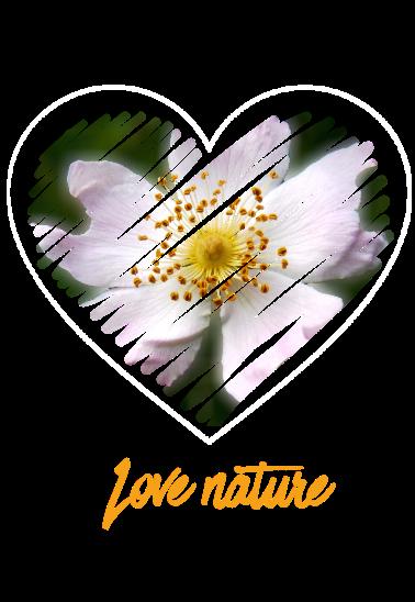 maglietta love nature 1