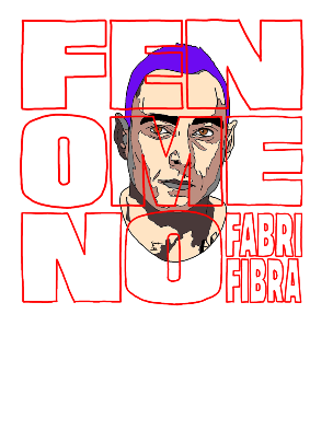 maglietta Fabri Fibra