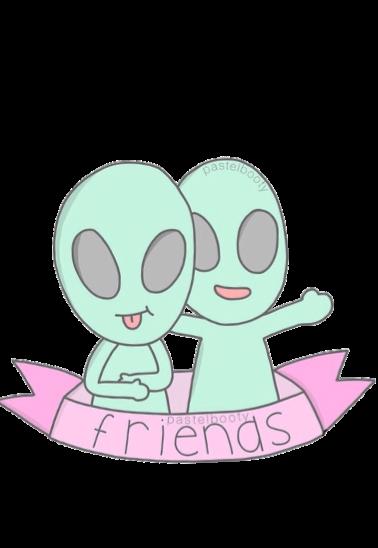 maglietta friend alien
