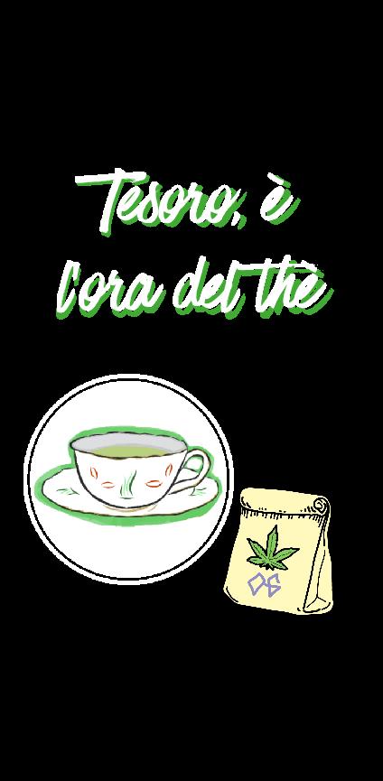 cover Tesoro, è l'ora del thè