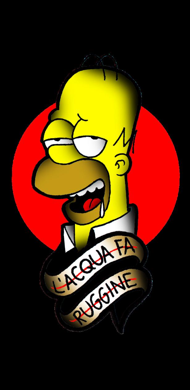 cover Homer Simpson II
