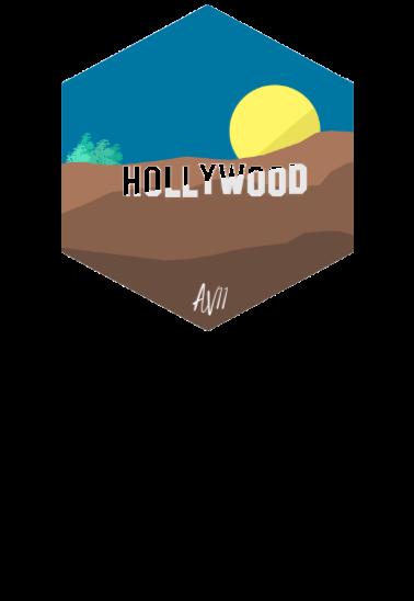 maglietta Hollywood
