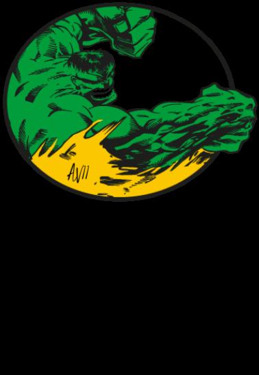 maglietta Hulk
