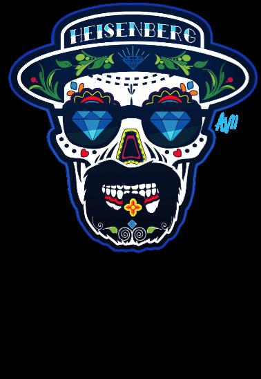 maglietta Heisenberg Skull