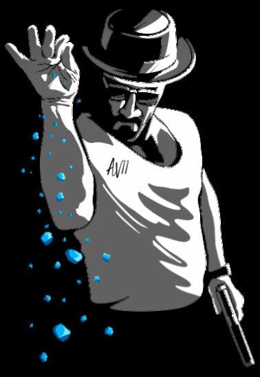 maglietta Heisenberg Salt Bae