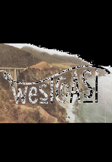 maglietta T-shirt West Coast