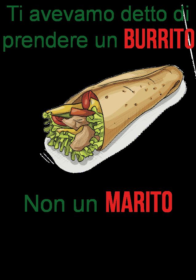 maglietta Ti avevamo detto_burrito