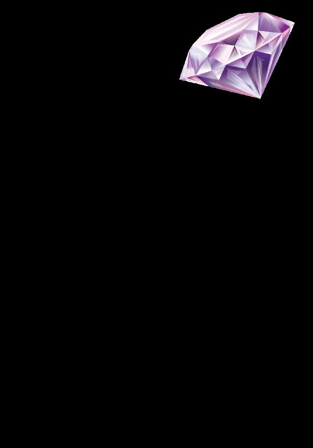 maglietta Diamante Violetto
