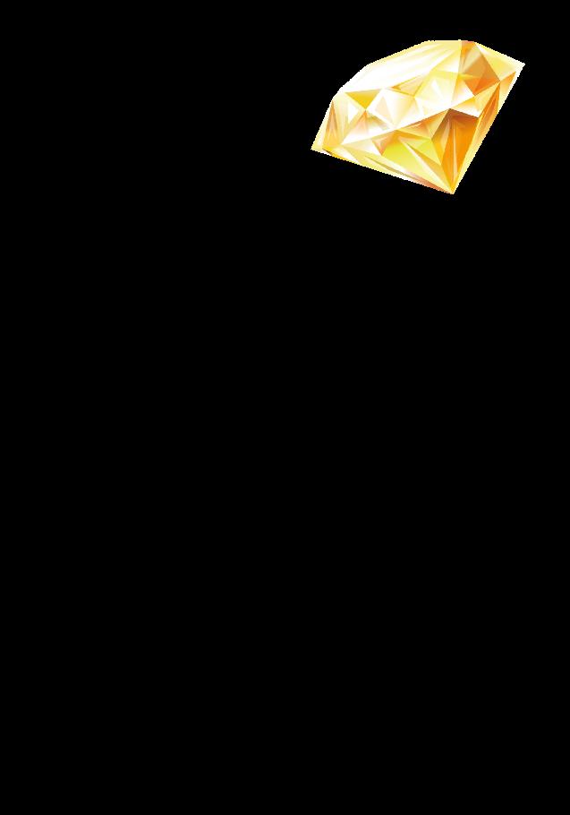 maglietta Diamante Giallino