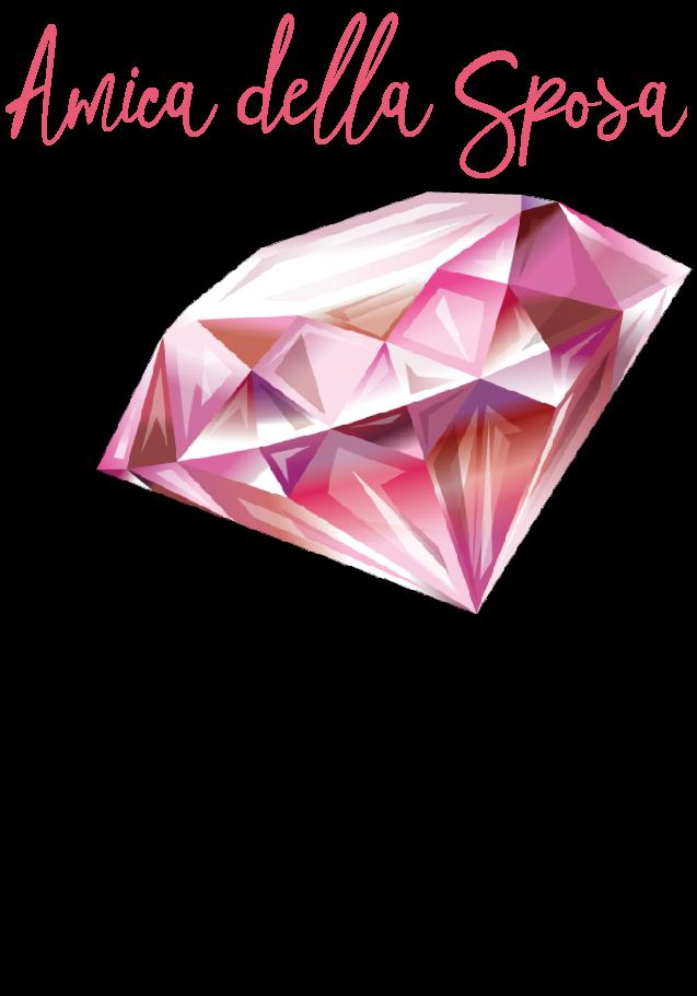 maglietta Diamante grande_Amica sposa