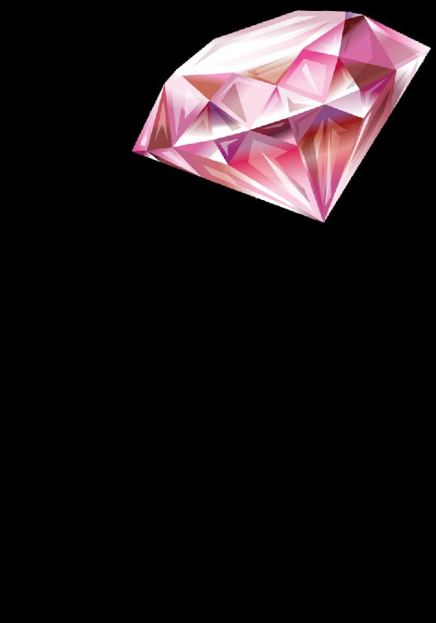 maglietta Diamante Rosato