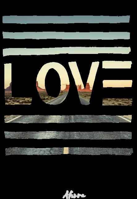 maglietta Horizon in Love