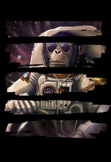 maglietta Astroneer Monkey
