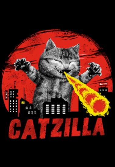 maglietta CATZILLA