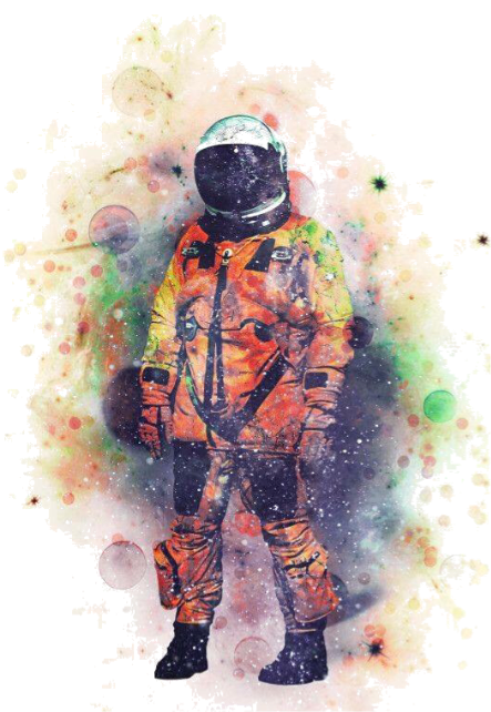 maglietta SPACE MAN