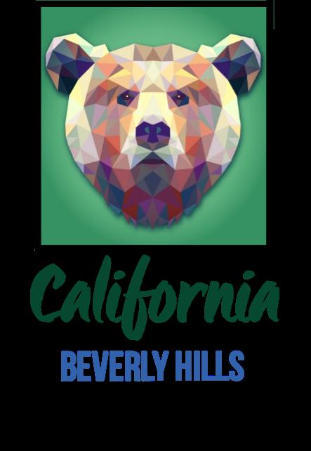 maglietta CALIFORNIA - BEVERLY HILLS