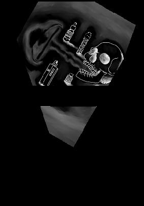 maglietta skull vape