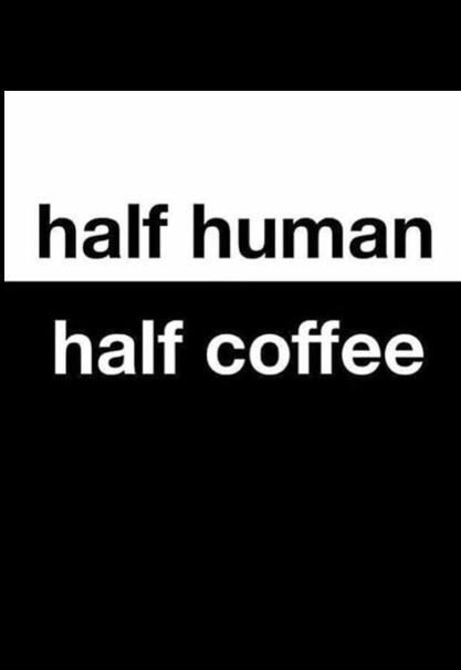 maglietta half coffee
