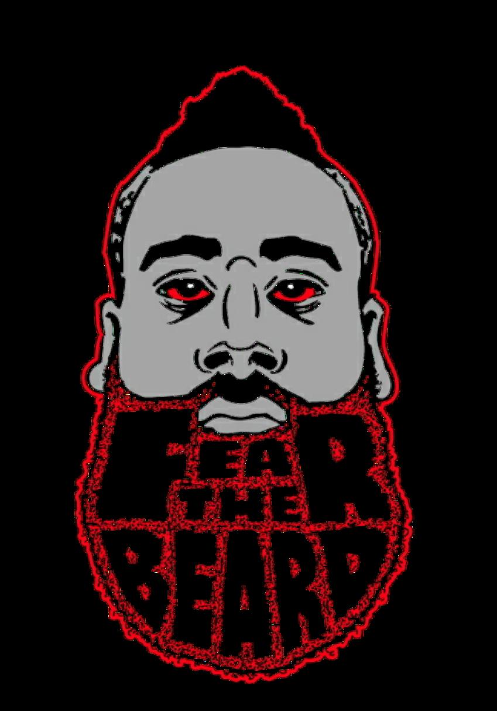 maglietta Fear the beard