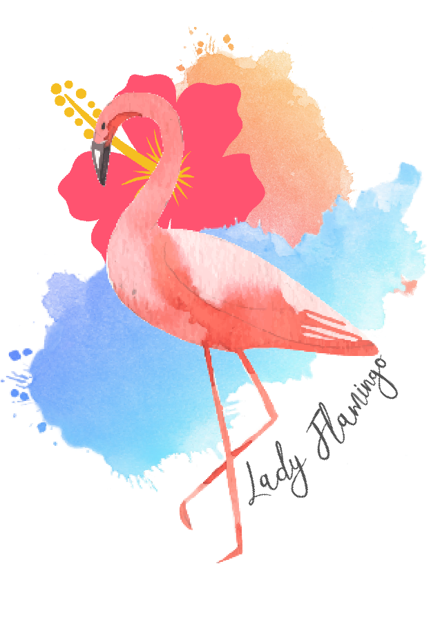 maglietta Lady flamingo