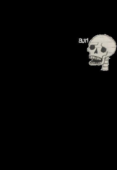 maglietta BUT! Skull