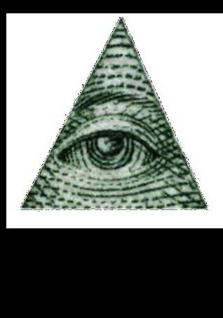 maglietta illuminati T-shirt