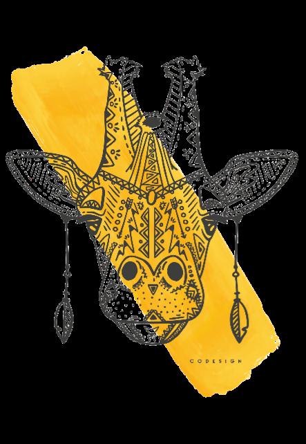 maglietta etnicgiraffe