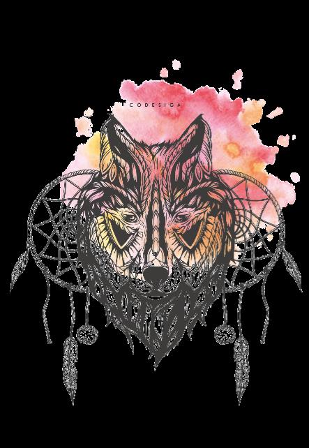 maglietta ethnicwolf