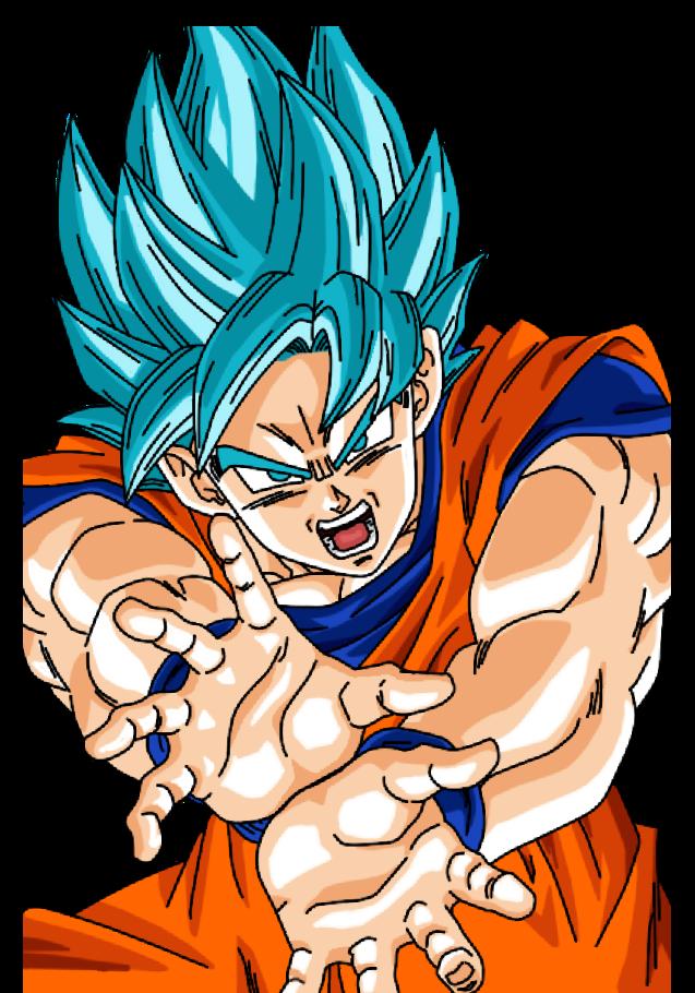 maglietta Goku ssj 2
