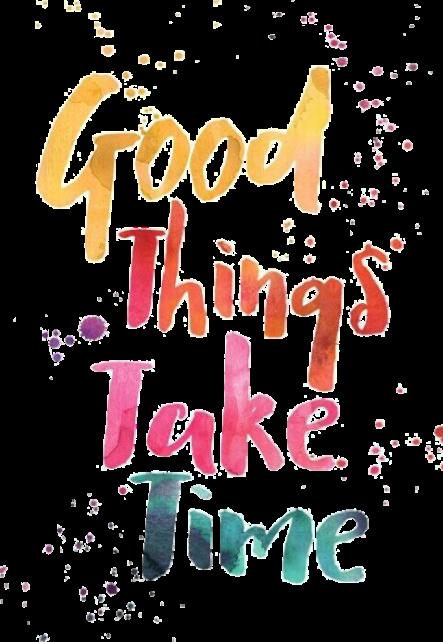 maglietta Good Things Take time