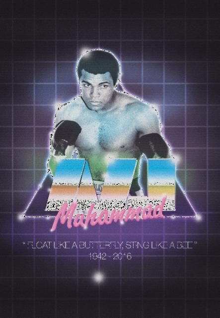 maglietta Muhammad Ali