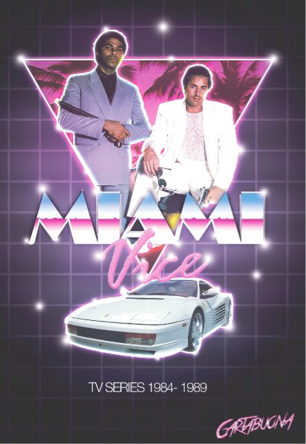 maglietta MIAMI VICE