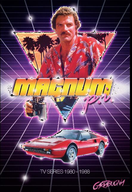 maglietta Magnum P.I.