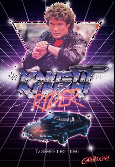 maglietta Knight Rider! (Kitt - Supercar)