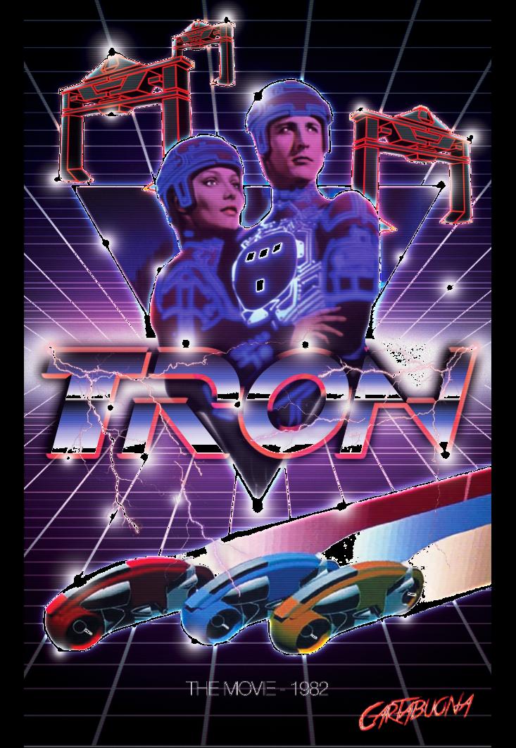 maglietta Tron 1982
