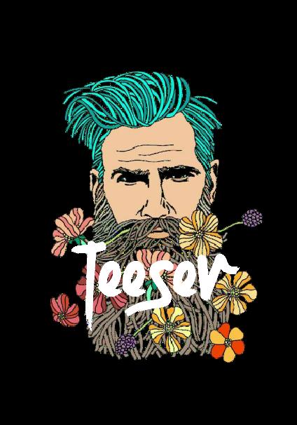 maglietta Flowers