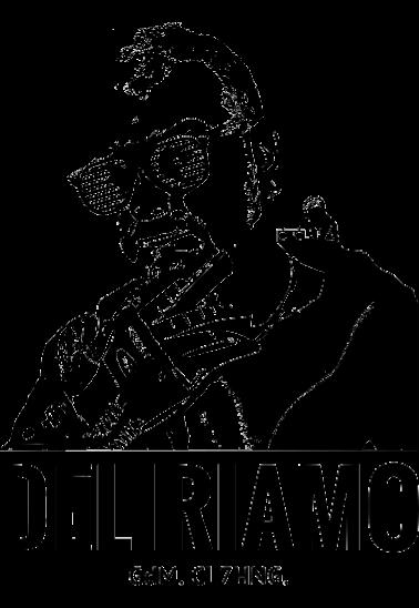 maglietta Gigi de Martino loves Deliriamo