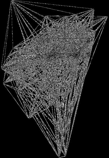 maglietta triangoli e frattali