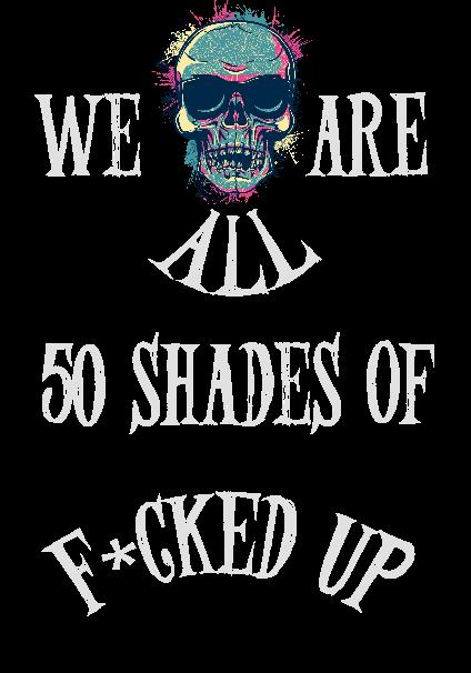 maglietta 50 Shades of Different