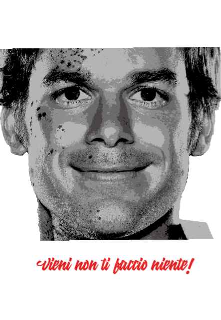 maglietta #Dexter