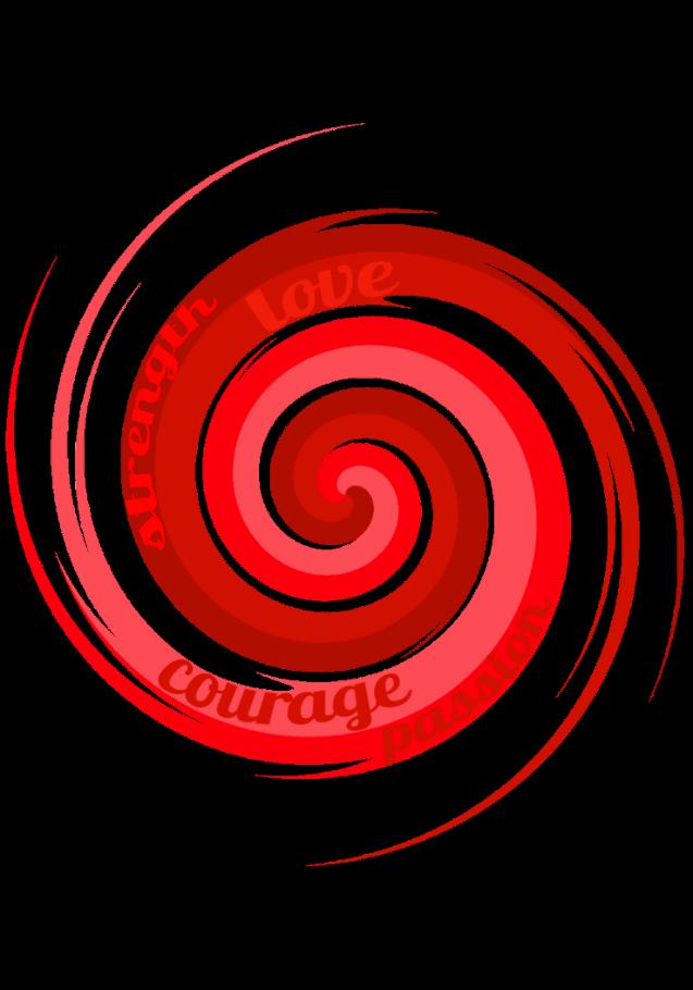 maglietta Spiral (fire)